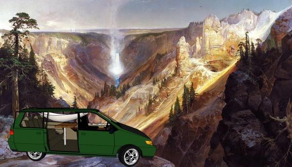 3d Model of the Minivan conversion